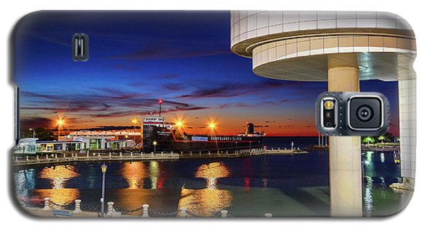 Galaxy S5 Case featuring the photograph From The Rock Hall by Brent Durken