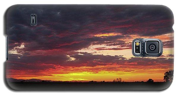 Front Range Sunset Galaxy S5 Case by Monte Stevens