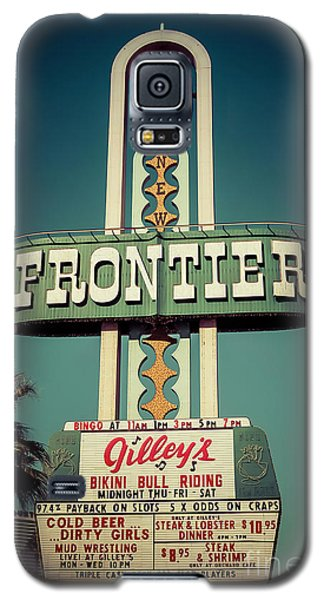 Frontier Hotel Sign, Las Vegas Galaxy S5 Case