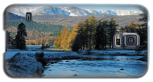 Frost In The Glen - Invercauld Galaxy S5 Case