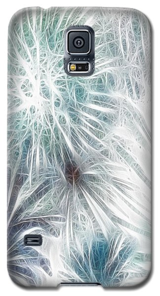 Galaxy S5 Case featuring the digital art Frosted Abstract by Methune Hively
