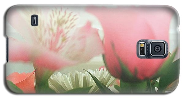 Galaxy S5 Case featuring the photograph Frosted Flowers by Ellen O'Reilly