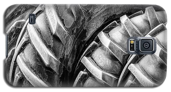 Galaxy S5 Case featuring the photograph Frosted Tires by Brad Allen Fine Art