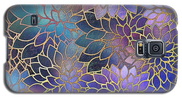 Galaxy S5 Case featuring the digital art Frostwork Fantasy by Klara Acel