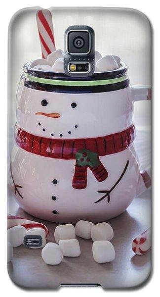 Galaxy S5 Case featuring the photograph Frosty Christmas Mug by Kim Hojnacki