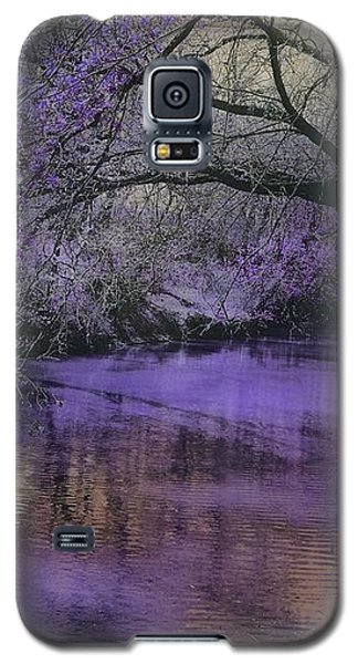 Frosty Lilac Wilderness Galaxy S5 Case