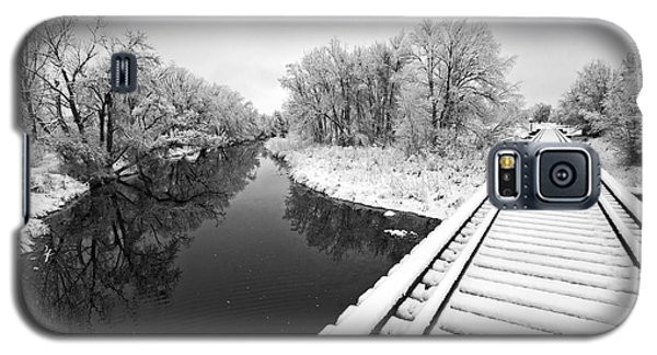 Frosty Morning On The Poudre Galaxy S5 Case by James Steele