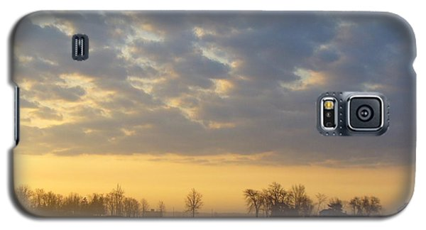 Frosty Spring Sunrise Galaxy S5 Case