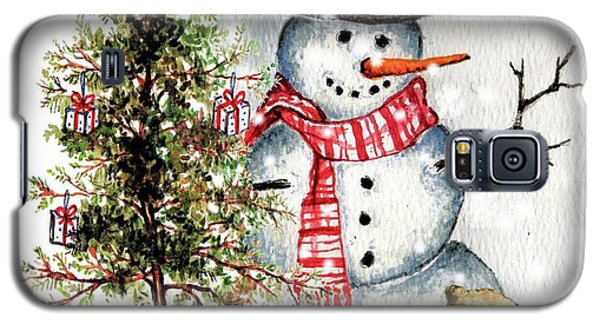 Frosty The Snowman Greeting Card Galaxy S5 Case