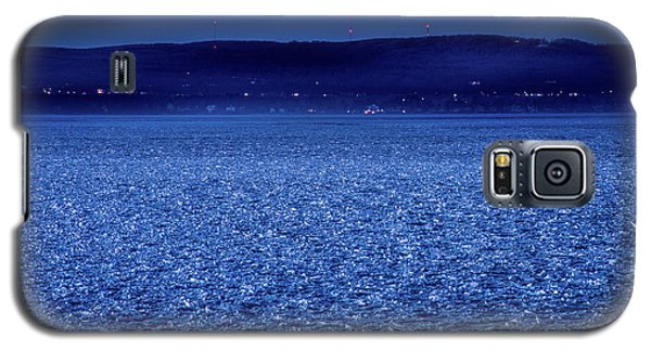 Galaxy S5 Case featuring the photograph Frozen Bay At Night by Onyonet  Photo Studios