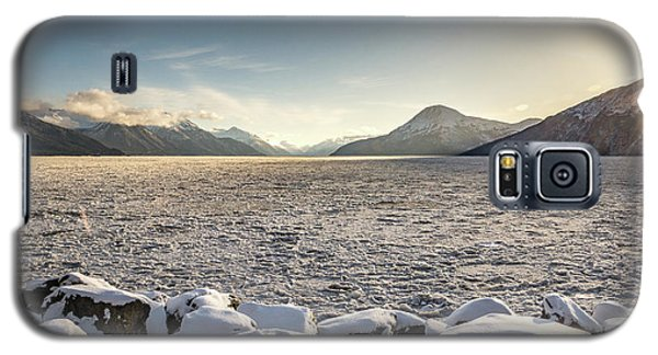 Frozen Fjord Sunrise Galaxy S5 Case
