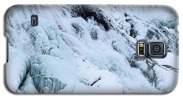 Frozen Gullfoss In Winter Galaxy S5 Case