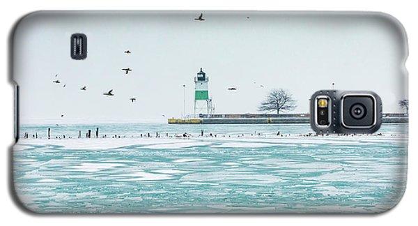 Frozen In Chicago Galaxy S5 Case