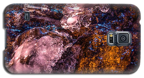 Frozen Lake Abstract Galaxy S5 Case by Tom Potter