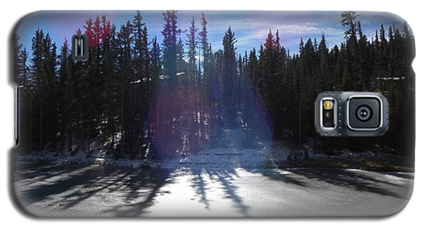 Sun Reflecting Kiddie Pond Divide Co Galaxy S5 Case