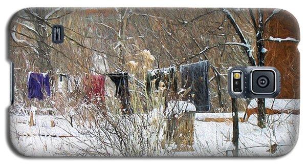Frozen Laundry Galaxy S5 Case