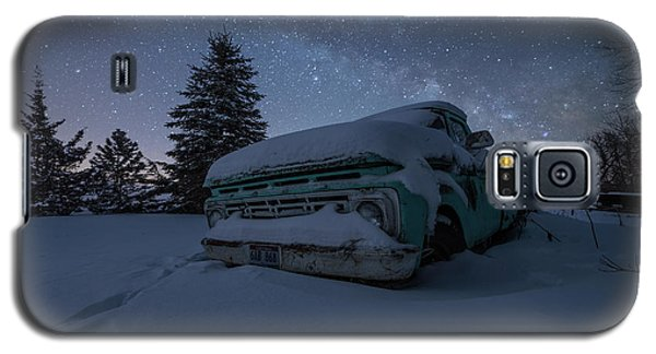 Galaxy S5 Case featuring the photograph Frozen Rust  by Aaron J Groen