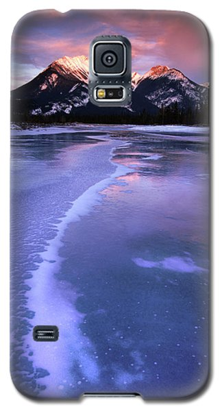 Frozen Sunrise Galaxy S5 Case