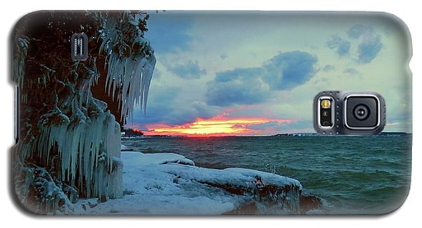 Frozen Sunset In Cape Vincent Galaxy S5 Case