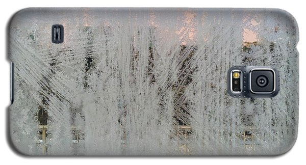 Frozen Window Galaxy S5 Case by Ernst Dittmar
