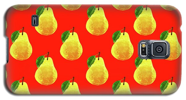 Fruit 03_pear_pattern Galaxy S5 Case