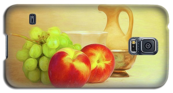 Fruit And Dishware Still Life Galaxy S5 Case