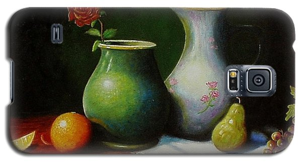 Fruit And Pots. Galaxy S5 Case by Gene Gregory