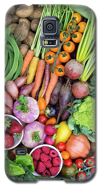 Fruit And Veg Galaxy S5 Case