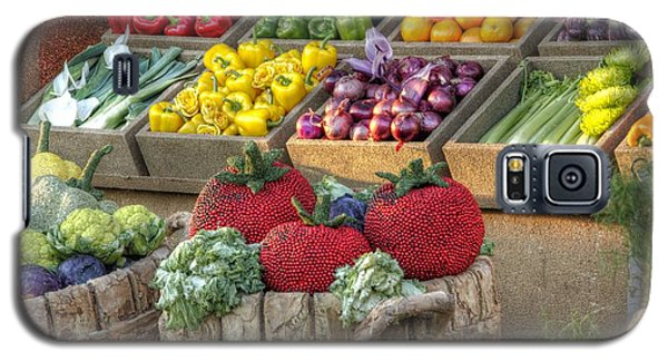 Fruit And Veggie Display Galaxy S5 Case