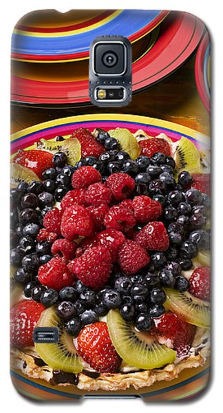 Fruit Tart Pie Galaxy S5 Case by Garry Gay
