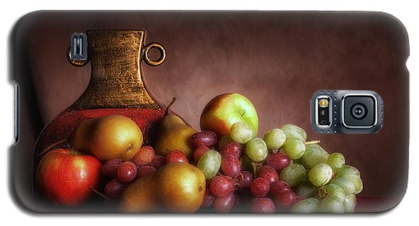 Fruit With Vase Galaxy S5 Case by Tom Mc Nemar
