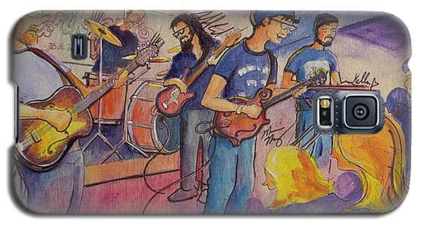 Galaxy S5 Case featuring the painting Fruition At The Barkley Ballroom by David Sockrider