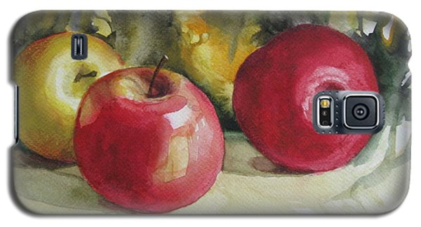 Galaxy S5 Case featuring the painting Fruits Of The Earth by Elena Oleniuc