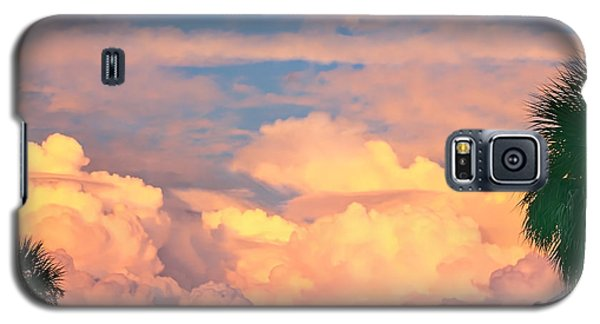 Ft De Soto Sunset Clouds Galaxy S5 Case