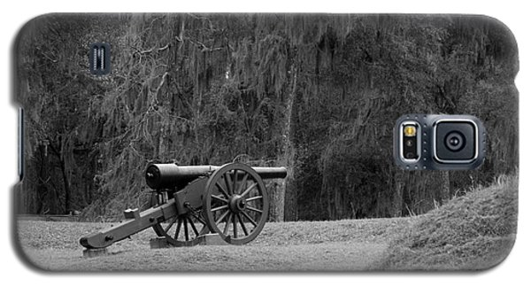 Ft. Mcallister Cannon 2 Black And White Galaxy S5 Case