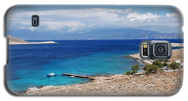 Ftenagia Beach On Halki Galaxy S5 Case