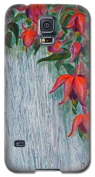 Fuchsia On The Fence Galaxy S5 Case