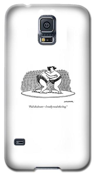 Sport Art Galaxy S5 Case - Full Disclosure, I Really Need This Hug by Joe Dator