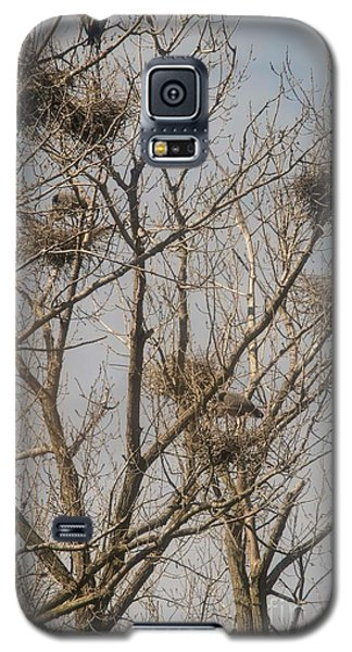 Galaxy S5 Case featuring the photograph Full House by David Bearden