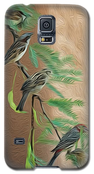 Galaxy S5 Case featuring the photograph Full House Op17 by Mark Myhaver