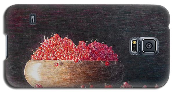 Galaxy S5 Case featuring the painting Full Life by A  Robert Malcom