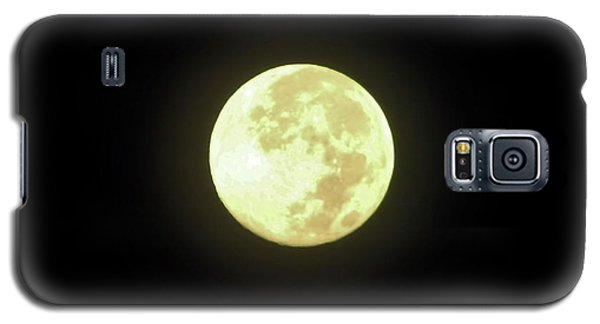 Full Moon August 2014 Galaxy S5 Case by D Hackett