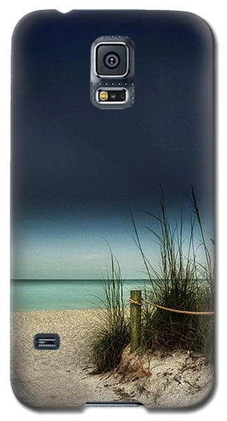 Full Moon Beach Galaxy S5 Case