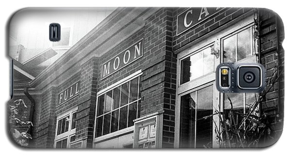 Full Moon Cafe Galaxy S5 Case by David Sutton