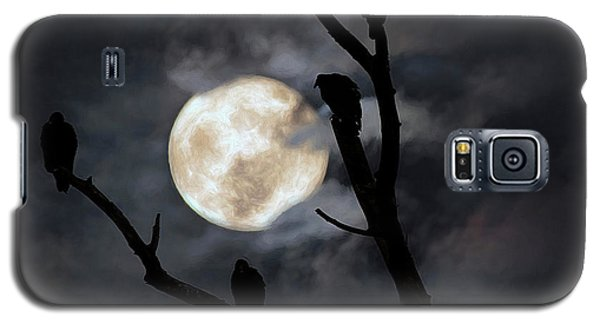 Galaxy S5 Case featuring the photograph Full Moon Committee by Darren Fisher