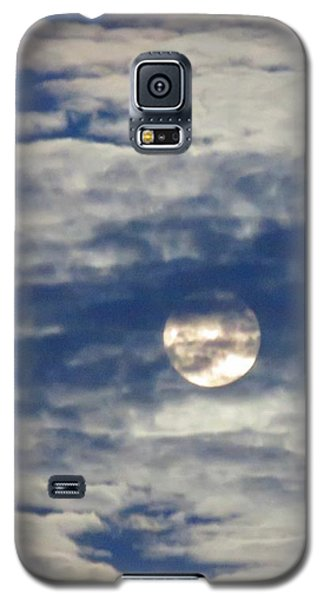Full Moon In Gemini With Clouds Galaxy S5 Case