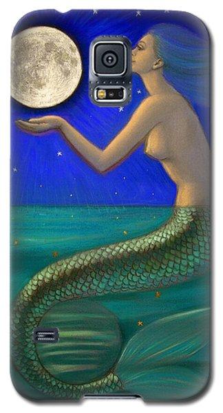 Full Moon Mermaid Galaxy S5 Case by Sue Halstenberg