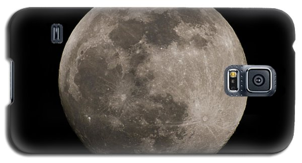 Galaxy S5 Case featuring the photograph Full Moon by Nathan Rupert
