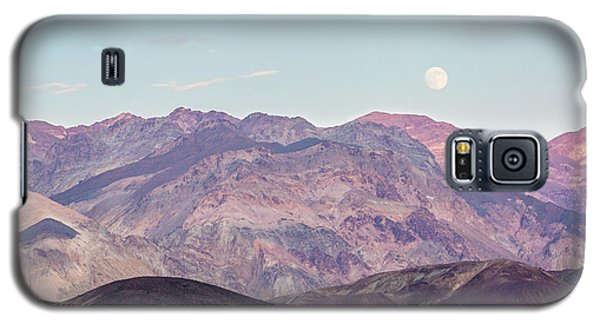 Full Moon Over Artists Palette Galaxy S5 Case