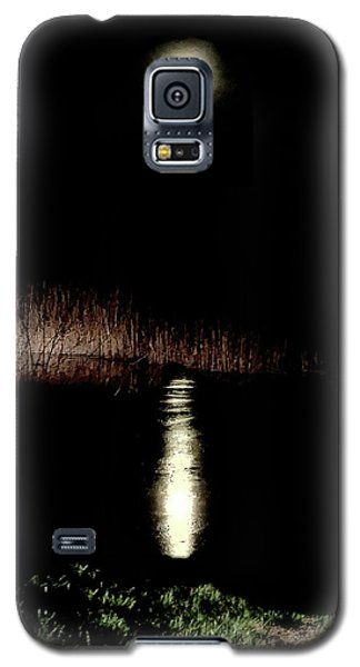 Full Moon Over Piermont Creek Galaxy S5 Case